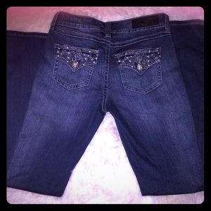Seven 7 jeans boot cut size 4 w/ jewels